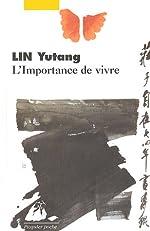 L'Importance de vivre d'Yutang Lin