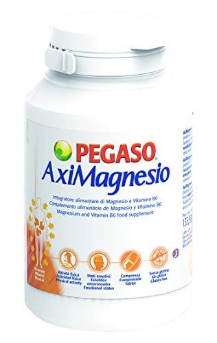 Pegaso Aximagnesio Integratore Alimentare di Magnesio, 100 Compresse, 134 g