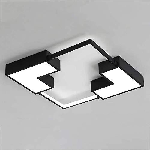 YANQING Duurzame LED Plafond Lamp Moderne Minimalistische Acryl Vierkant Persoonlijkheid Creatieve Afstandsbediening Dimmen Slaapkamer Eetkamer Studie Lamp Verlichten Leven