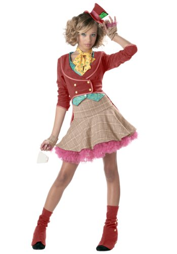 Teen Girls Mad Hatter Costume Size 3-5
