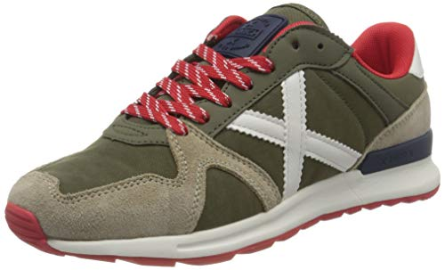 Munich ALPHA 36, Zapatillas Adulto, Verde, 46 EU
