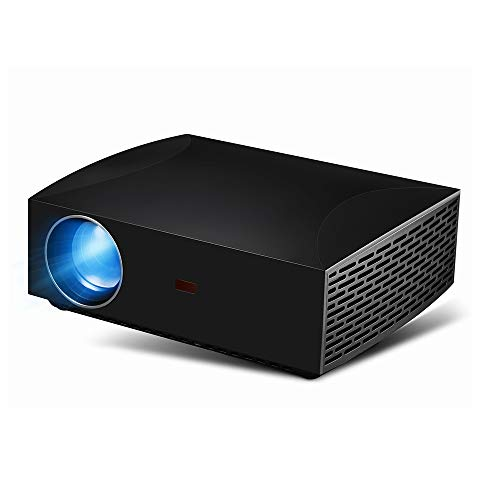 Mini HD projector LED thuisbioscoop draadloze bluetooth projector, maximale projectie 5Gwifi ingebouwde subwoofer diffuses beschermend oog