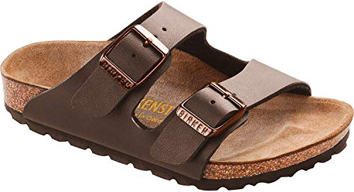 Birkenstock Arizona Birko-Flo Mocha Sandals - 28 EU(10-10.5 M US Toddler)