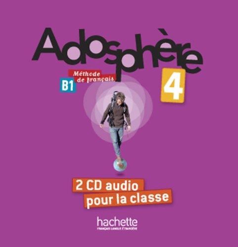 Adosphère 4: CD audio classe