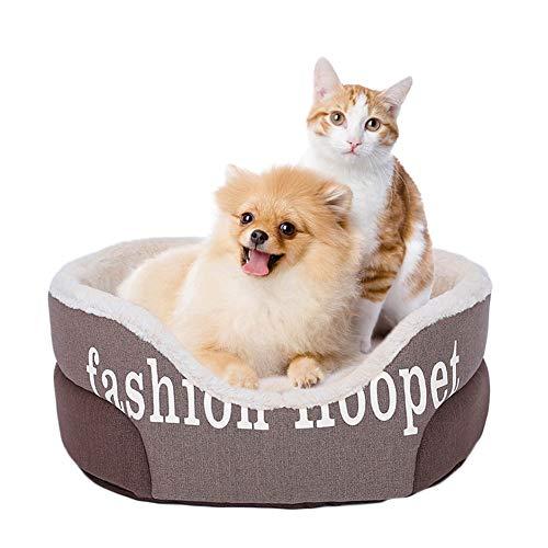 ZISITA huisdier bank hond bedden waterdichte bodem voor kleine middelgrote grote honden zachte fleece warm kat bed huis kennel mat deken huisdier producten