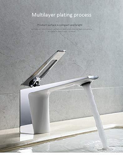 GHWZ tafelarmaturen wastafel in de badkamer enkele gaten-warme en koude taps tafelarmaturen koper-basin-kraan zwart