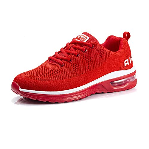 Fexkean Hommes Femme Basket Mode Chaussures de Sports Course Sneakers Fitness Gym athlétique Multisports Outdoor Casual(A35 RE37)
