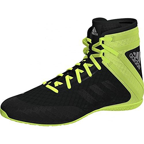 Adidas Botas de boxeo Speedex 16.1 - negro verde UK 5.5 -...