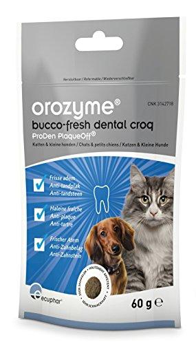 ecuphar Orozyme® Bucco-Fresh Dental Croq für kleine Hunde und Katzen - 60g