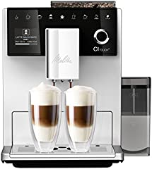 Melitta F630-101 Cafetera automática, 1400 W, 1.8 litros, 63 Decibeles, Stainless Steel, 5 Velocidades, Plata