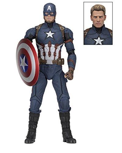 Neca Captain America Civil War: Figura Captain America Marvel