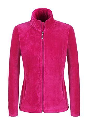 Emmala dames wollen mantel mantel met wol unieke stijl pluche kraag overgangsjas lange mouwen winterjas warm zwart blauw roze maat 36 44 wintermantel