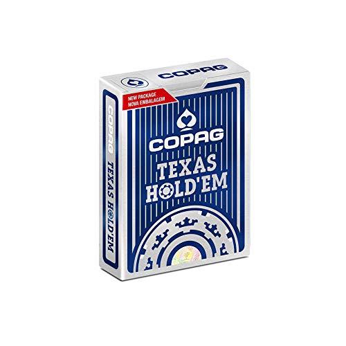 Baralho de Poker Texas Hold'em Azul, Copag
