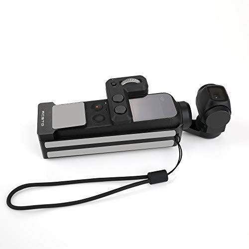 HSKB Action Camera Multiple Strap Holder Adapter voor DJI OSMO Action 4K Camera Accessoires Koellichaam Beschermende behuizing Frame kooi met 1/4 schroef Adapter
