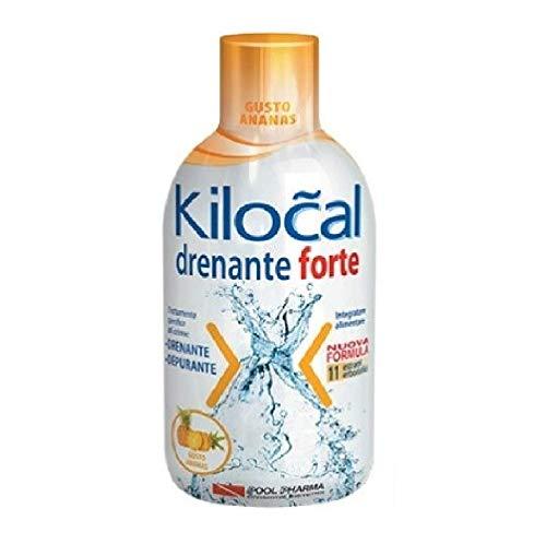 Kilocal Drenante Forte Integratore Alimentare Ananas 500 ml
