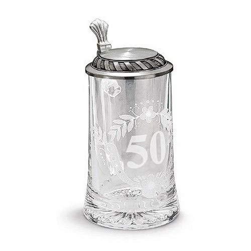 Artina 93372 - Boccale da Birra per Celebrazione dei 50 Anni