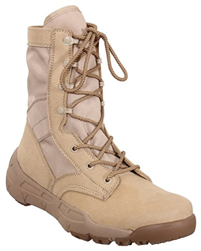 Rothco V-Max Lightweight Tactical Boot, 11, Desert Sand