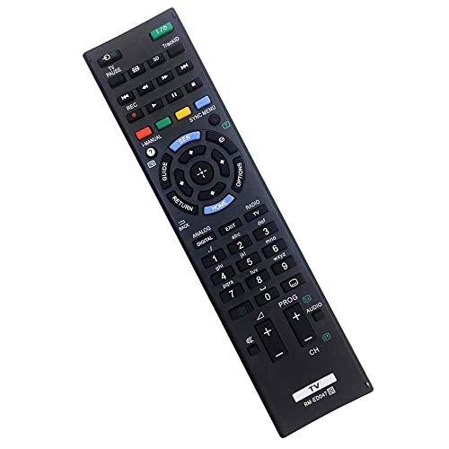 Reemplazo Sony RM-ED047 TV Compatible con Todos los Controles remotos de Sony TV No Requiere configuración Mando a Distancia para Sony LCD/LED Smart TV RM-YD103 RM-ED047 rm-ed050 rm-ed060 rm-ed061