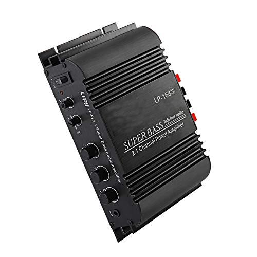 GOFORJUMP LP-168S 12V auto audio auto versterker power subwoofer bass uitgang stereo geluid met AUX-functie luidspreker afstandsbediening