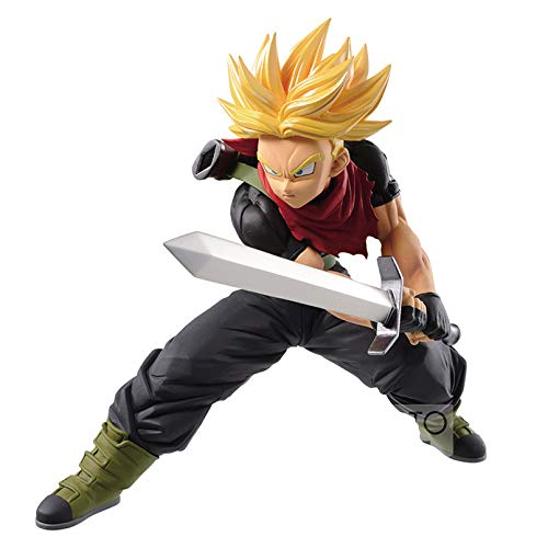 CLEARNICE Decoration 16Cm Japanese Anime Dragon Balled Z Trunks PVC Action Figure Super Saiyan Trunks Collectible Decoration Model Kid Gift image