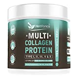 Multi Collagen Protein Powder (Multicollagen) Collagen Peptides Type (1,2,3,5 and 10) Keto High Quality Blend of Grass-Fed Chicken, Wild Fish, Egg Hydrolyzed Collagen Bovine Keto