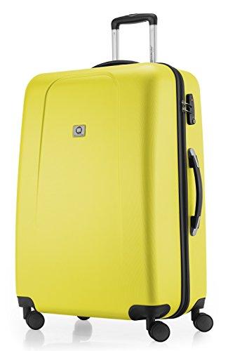 Hauptstadtkoffer® - Maleta de viaje (diferentes tamaños y colores, con 4 ruedas que giran 360 grados, candado TSA) amarillo amarillo extra-large