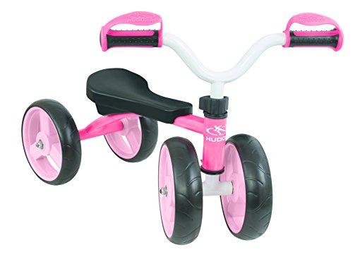 HUDORA 10346 - Laufrad - 4 Wheely, pink