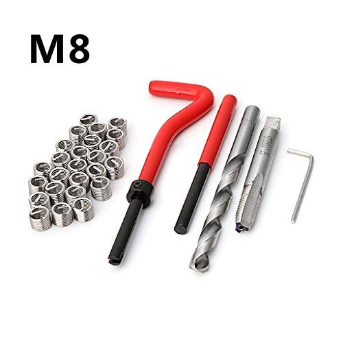 R-WEICHONG - Juego de 30 llaves hexagonales M8 para reparación de coches