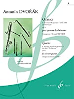 ドボルザーク : 弦楽四重奏「アメリカ」 第四楽章 (クラリネット四重奏) ビヨドー出版