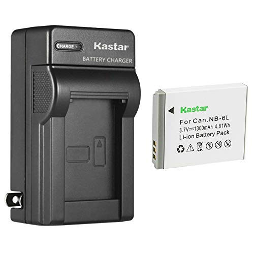 Kastar 1Pcs Battery and AC Wall Charger Replacement for Canon PowerShot SX170 IS, PowerShot SX240 HS, PowerShot SX260 HS, PowerShot SX270 HS, PowerShot SX280 HS, PowerShot SX500 IS, PowerShot SX510 HS