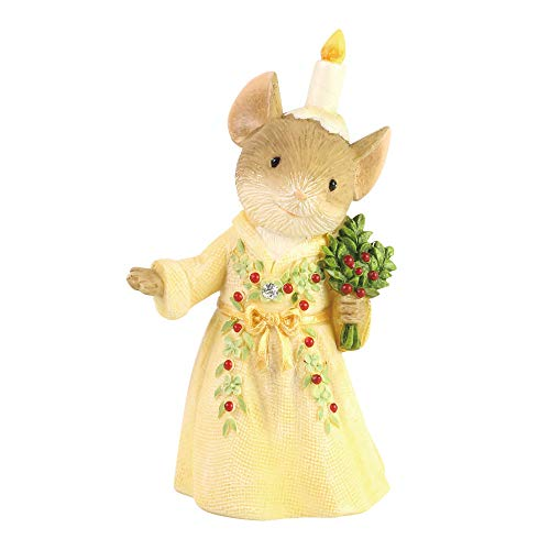 Enesco Tails with Heart Ghost of Christmas Past Mouse, Figurine