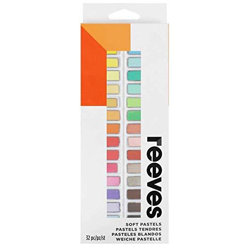 Reeves - Pasteles blandos - Multicolor - Caja de 32