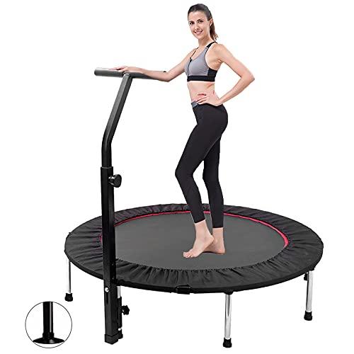 FYRMMD Trampolín de Fitness, trampolín de jardín, trampolín Plegable Prime para Entrenamiento Cardiovascular con 5 Veces Ajustable (trampolín)