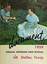 (Custom Reprint) Yearbook: 1959 Thomas Jefferson High School - Document Yearbook (Dallas, TX)