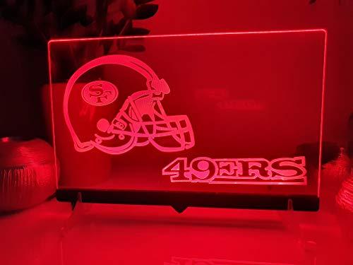San Francisco 49ers Leuchtschild LED Neu Schild NFL USA Neon/neonschild zum hinstellen