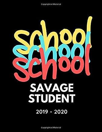 Savage Student: 2019 - 2020 School Planner