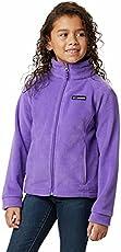 Columbia Baby Girls Benton Springs Fleece Jacket, Grape Gum, Large
