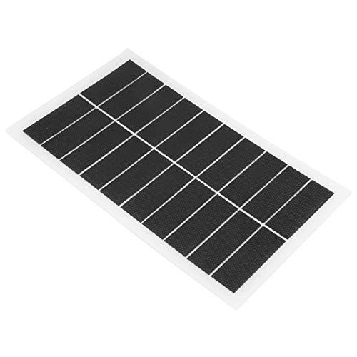 DAUERHAFT Panel de energía Solar Ligero 7W 10V para Luces del hogar, Ventiladores eléctricos para Luces de Emergencia