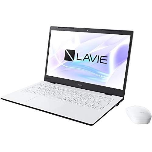 NEC LAVIE Home Mobile HM350/PA(パールホワイト)- 14.0型モバイルノートパソコン[Core i3 / メモリ 4GB / SSD 256GB / Microsoft Office 2019] PC-HM350PAW
