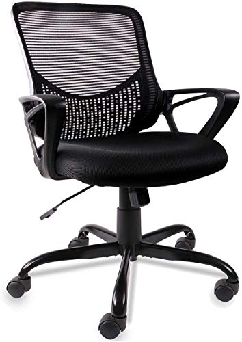 Office Chair, Mid Back Mesh Office Computer Swivel Desk Task Chair, Ergonomic Executive Chair with...