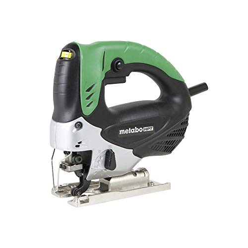Metabo HPT Jig Saw, Variable Speed, 4-Mode Orbital Action, Dust Blower Feature (CJ90VST)
