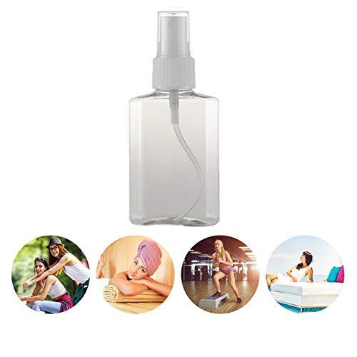 Spray Vide Spray Bottle Flacon Vide Flacon Recipient Cosmetique Flacon Spray Vide Maquillage Shampooing Nettoyant Pour Le Visage Pompe De Maquillage Bouteille Cosmétique Flacon Pompe white nozzle