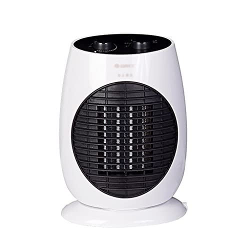 LLRZ Termoventilador Calentador de Espacio eléctrico Calentador de cerámica oscilante portátil 1800W Calefacción rápida termostato sobrecalentamiento y Punta de protección Vertical Calefactor