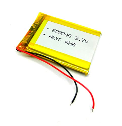 Invento 3.7V 800mAh Polymer Li-ion battery Lipo for GPS, PDA, DVD, iPod, Tablet, PC and Drones