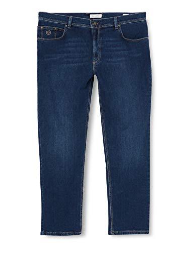 Bugatti Herren 3280D-16640 Loose Fit Jeans, Blau (Stone Washed 343), W38/L30