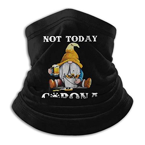 Not Today Cor-Ona-Vir-Us Scaldacollo Sciarpa per il viso Sciarpa lavabile riutilizzabile paradenti, passamontagna Bandana per sport all'aria aperta