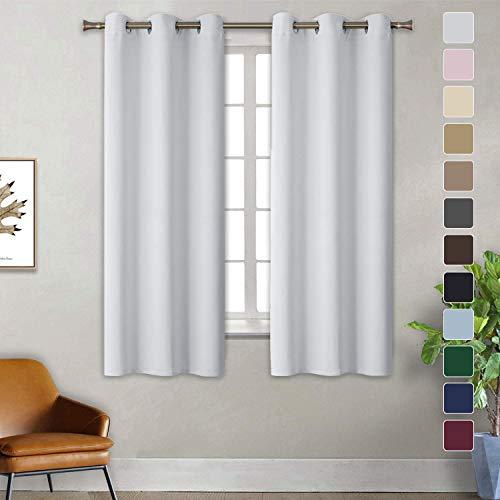 Curtains Modern, Scheibengardine modern, Blickdicht Hochwertige Qualität Kälteschutz, für Wohnzimmer Dekorative,...