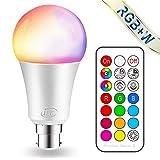 iLC Farbige Leuchtmittel LED RGBW Lampe Dimmbare Farbige Leuchtmitte Lampen