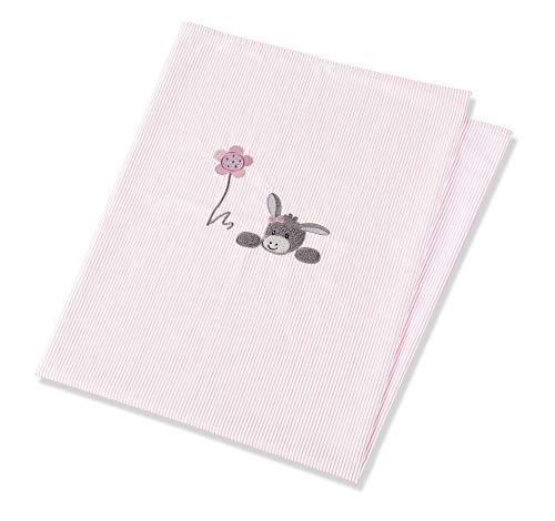 Sterntaler UV-Decke Esel Emmi Girl, Alter: Für Babys ab der Geburt, 70 x 100 cm, Rosa