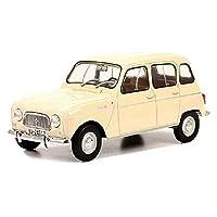 ルノー ミニカー 1/24 RENAULT R4L 1964 ブリスターパック (クリーム) [並行輸入品]